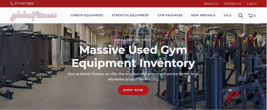 GlobalFitness.com used gym equipment