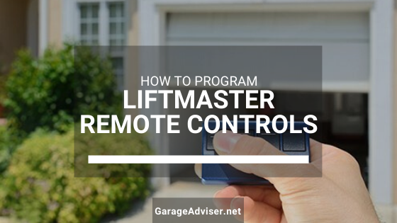 liftmaster remote programming