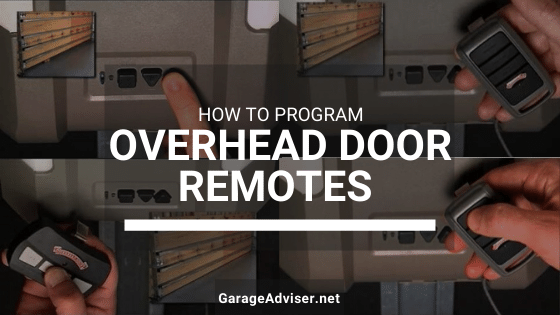 overhead door remote programming